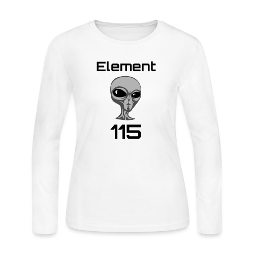 Element 115 - Women's Long Sleeve Jersey T-Shirt