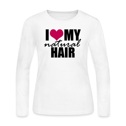 LOVE MY NH pink - Women's Long Sleeve Jersey T-Shirt