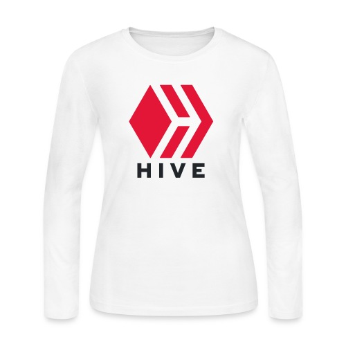 Hive Text - Women's Long Sleeve Jersey T-Shirt