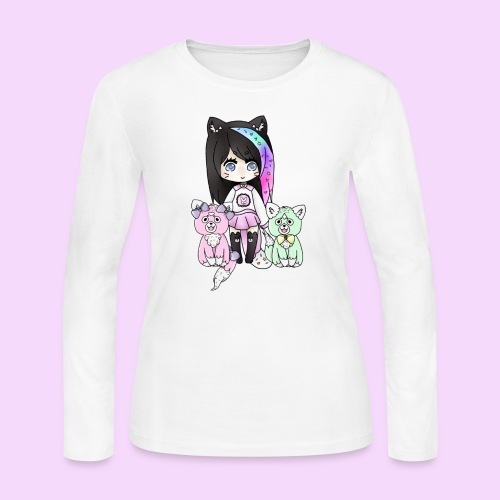 Lolipup Family! - Women's Long Sleeve Jersey T-Shirt