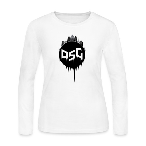 DSG Casual Women Hoodie - Women's Long Sleeve Jersey T-Shirt