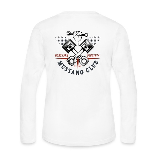 Crazy Pistons logo t-shirt - Women's Long Sleeve Jersey T-Shirt
