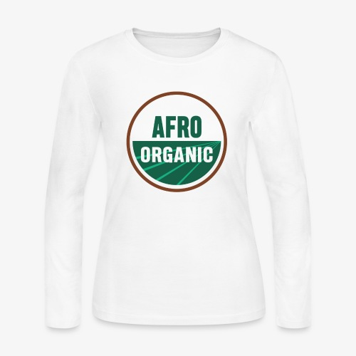 Afro Organic - Women's Long Sleeve Jersey T-Shirt
