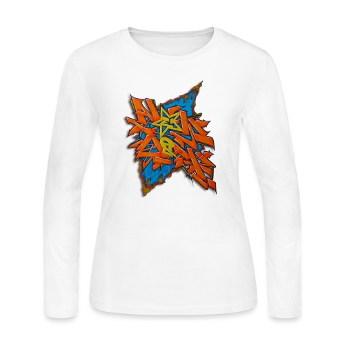 Artgomez14 - NYG Design - Women's Long Sleeve Jersey T-Shirt