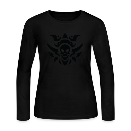 tattoo PNG5487 - Women's Long Sleeve Jersey T-Shirt
