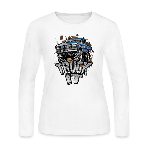 Truck It - Women's Long Sleeve Jersey T-Shirt