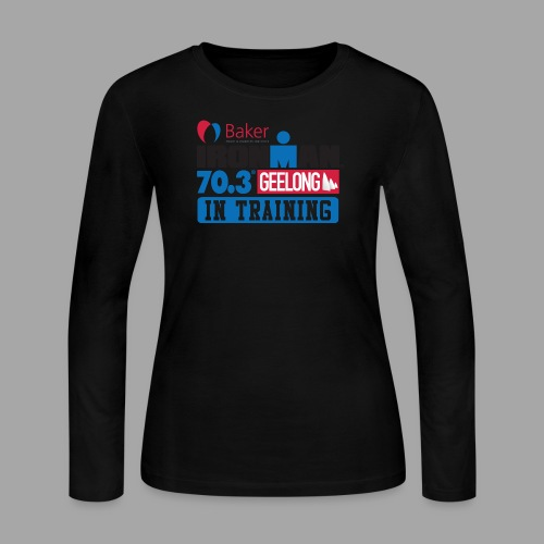 70.3 Geelong - Women's Long Sleeve Jersey T-Shirt