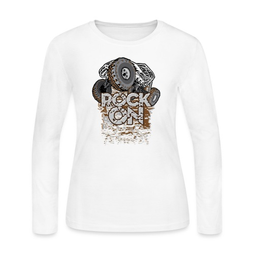 Rock Bouncer Buggy - Women's Long Sleeve Jersey T-Shirt