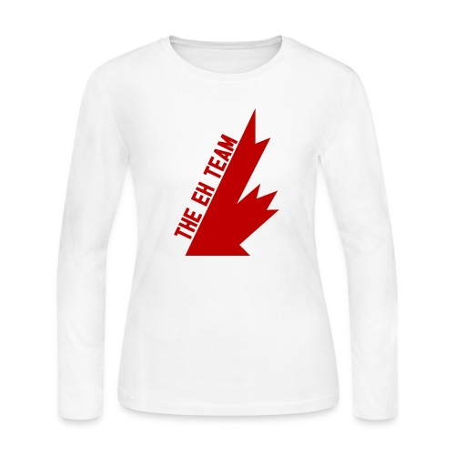 The Eh Team Red - Women's Long Sleeve Jersey T-Shirt
