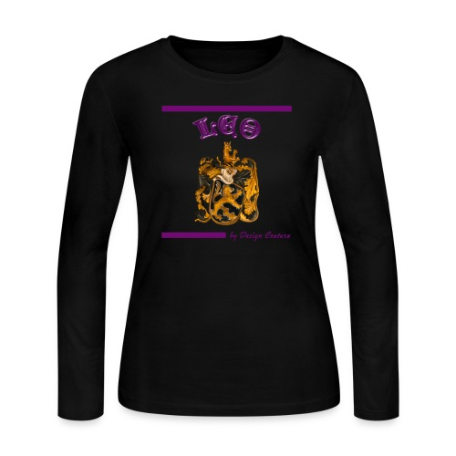 LEO PURPLE - Women's Long Sleeve Jersey T-Shirt