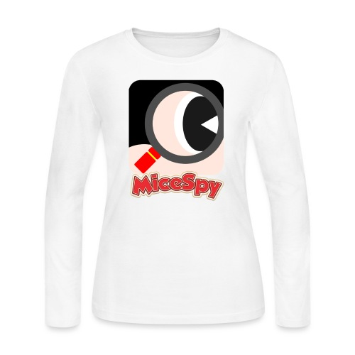 MiceSpy with your eye! - Women's Long Sleeve Jersey T-Shirt