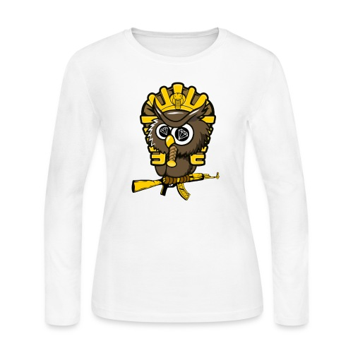 king otrg owl - Women's Long Sleeve Jersey T-Shirt