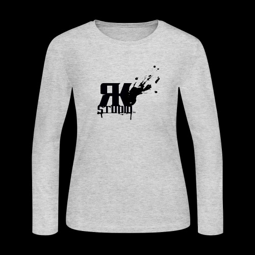 RKStudio Black Version - Women's Long Sleeve Jersey T-Shirt
