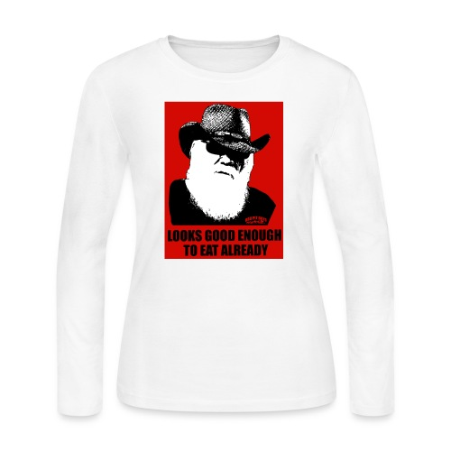 BBQ Pit Boys Looks Good Enough to Eat Already - Women's Long Sleeve Jersey T-Shirt