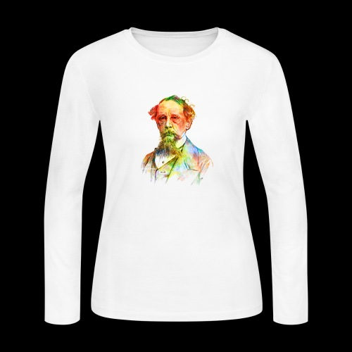 What the Dickens? | Classic Literature Lover - Women's Long Sleeve Jersey T-Shirt