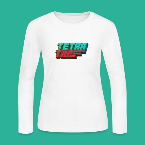 Tetra Tap - Women's Long Sleeve Jersey T-Shirt