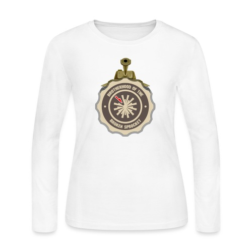 Brotherhood of the Broken Sprocket - Women's Long Sleeve Jersey T-Shirt