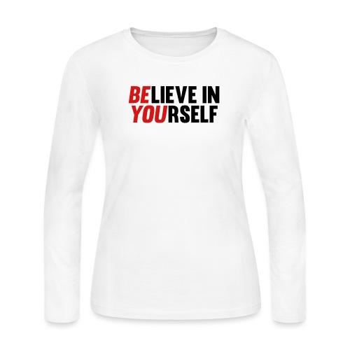 Believe in Yourself - Women's Long Sleeve Jersey T-Shirt
