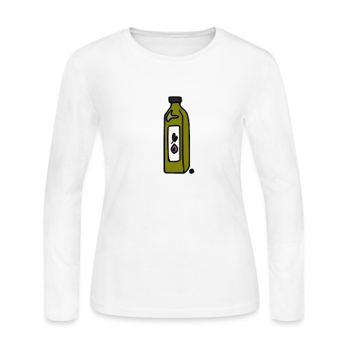 Olive Oil - Women's Long Sleeve Jersey T-Shirt