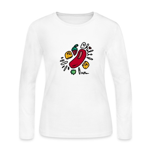 Chili - Women's Long Sleeve Jersey T-Shirt