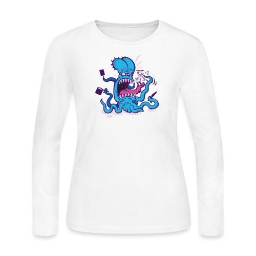 Powder blue Extreme Cooking Long Sleeve Shirts - Women's Long Sleeve Jersey T-Shirt