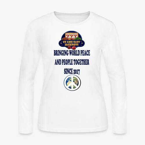 world peace - Women's Long Sleeve Jersey T-Shirt
