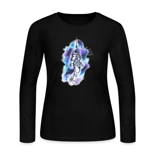 Get Me Out Of This World - Women's Long Sleeve Jersey T-Shirt