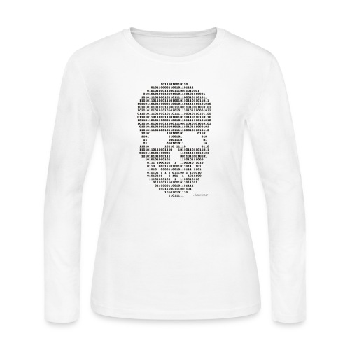 Hacker binary - Mens - Women's Long Sleeve Jersey T-Shirt
