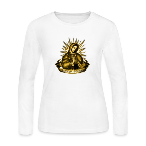 Querida Madre by RollinLow - Women's Long Sleeve Jersey T-Shirt
