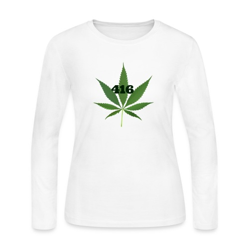 Toronto marijuana - Women's Long Sleeve Jersey T-Shirt