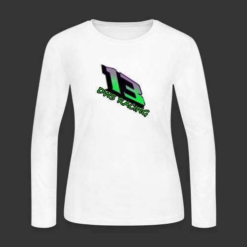 13 copy png - Women's Long Sleeve Jersey T-Shirt