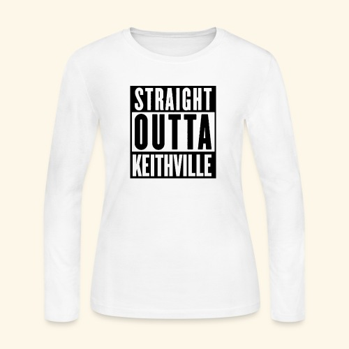 STRAIGHT OUTTA KEITHVILLE - Women's Long Sleeve Jersey T-Shirt