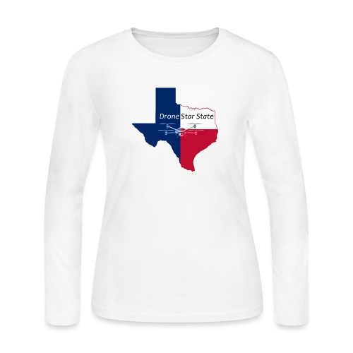 Drone Star State - Women's Long Sleeve Jersey T-Shirt