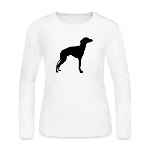 Italian Greyhound - Women's Long Sleeve Jersey T-Shirt