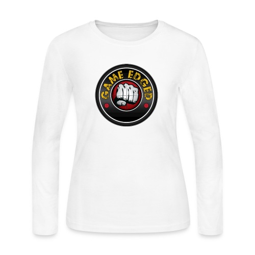 Men's Game Edged Logo Tshirt with So Be It On the - Women's Long Sleeve Jersey T-Shirt