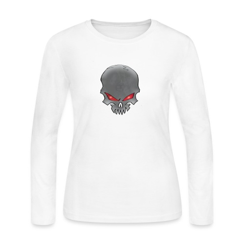 CK Skull - Women's Long Sleeve Jersey T-Shirt