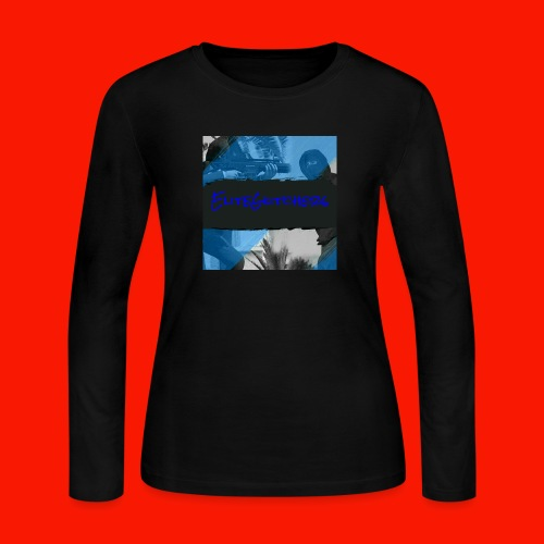 EliteGlitchersRevamp - Women's Long Sleeve Jersey T-Shirt