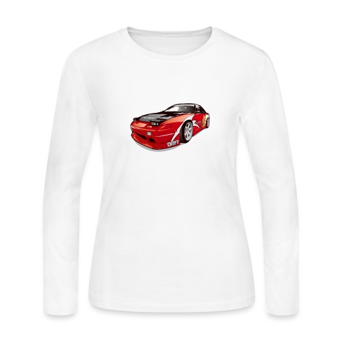 cars drift - Women's Long Sleeve Jersey T-Shirt