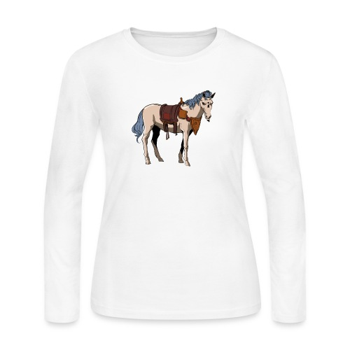 Useless the Horse png - Women's Long Sleeve Jersey T-Shirt