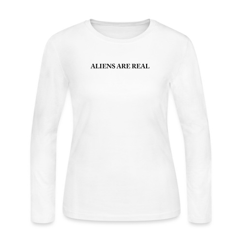Aliens are Real - Women's Long Sleeve Jersey T-Shirt