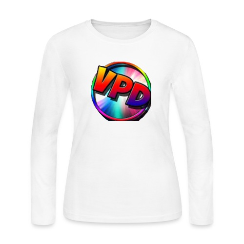 VPD LOGO - Women's Long Sleeve Jersey T-Shirt
