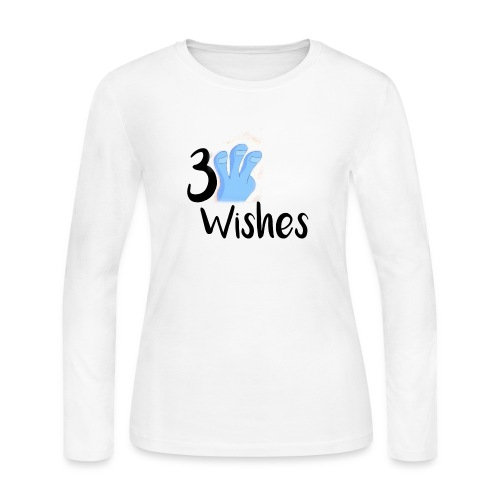 3 Wishes Abstract Design. - Women's Long Sleeve Jersey T-Shirt