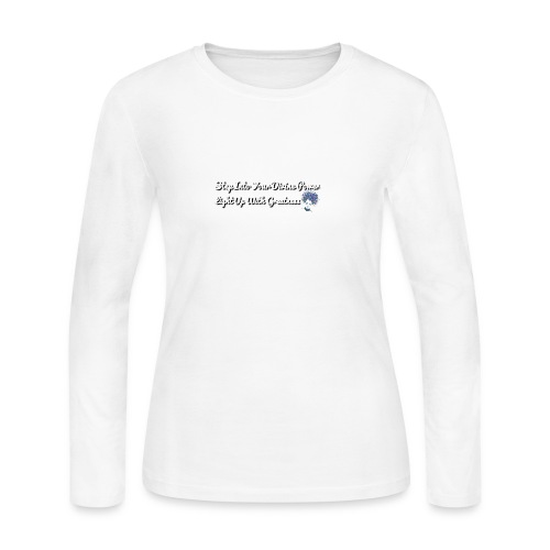 Step Into.. and Light Up.. - Women's Long Sleeve Jersey T-Shirt
