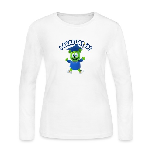 I Graduated! Gummibar (The Gummy Bear) - Women's Long Sleeve Jersey T-Shirt