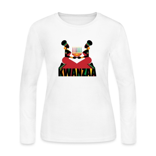 Kwanzaa - Women's Long Sleeve Jersey T-Shirt