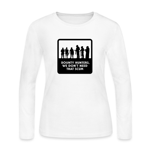 Bounty Hunters - Women's Long Sleeve Jersey T-Shirt