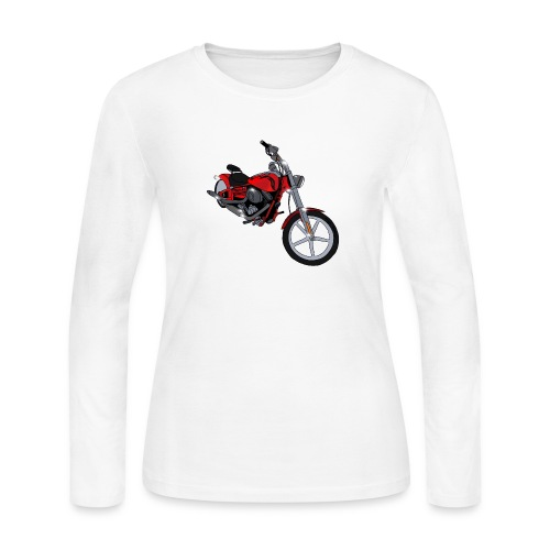 Motorcycle red - Women's Long Sleeve Jersey T-Shirt