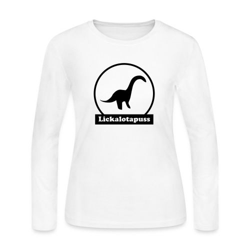 Lickalotapuss - Women's Long Sleeve Jersey T-Shirt
