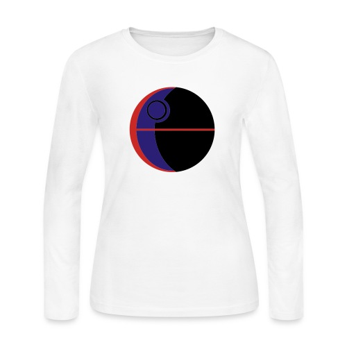 This Is Not A Moon - Women's Long Sleeve Jersey T-Shirt