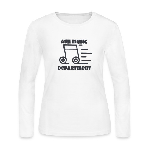 ASH Music Department - Women's Long Sleeve Jersey T-Shirt
